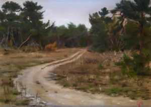 Landscape painting workshops with Art Escape Italy